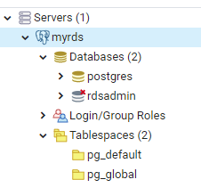 Servers node